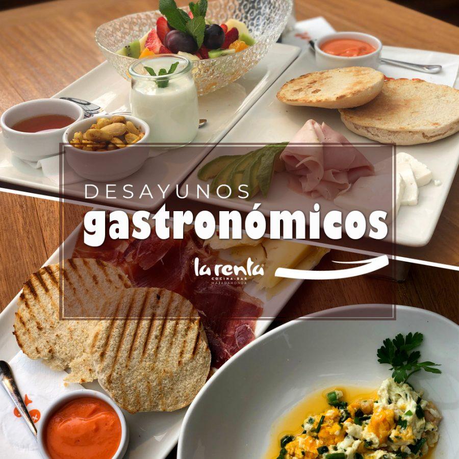 Desayuno gastronómico